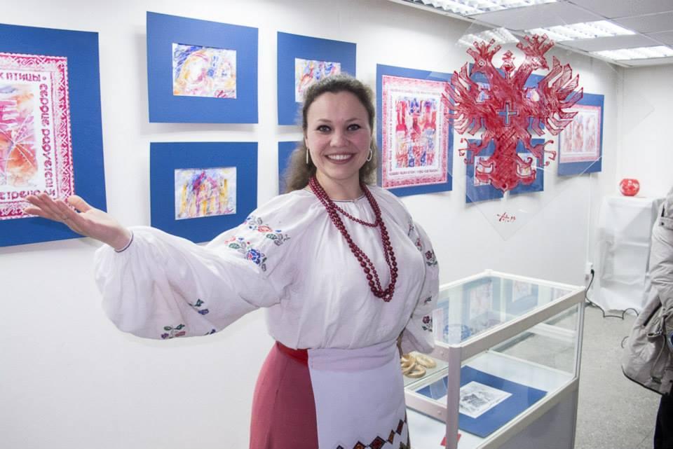 """Проект """"Колядки"""" на выставке """"Автограф"""" в ГВЗ Геленджика, 2014 год"""