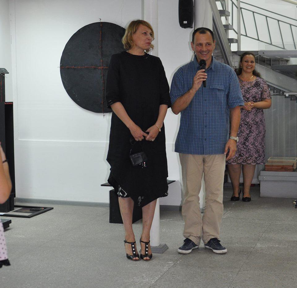 """Открытие  выставки """"Человек вечный"""" в ГВЗ Геленджика, 2015"""