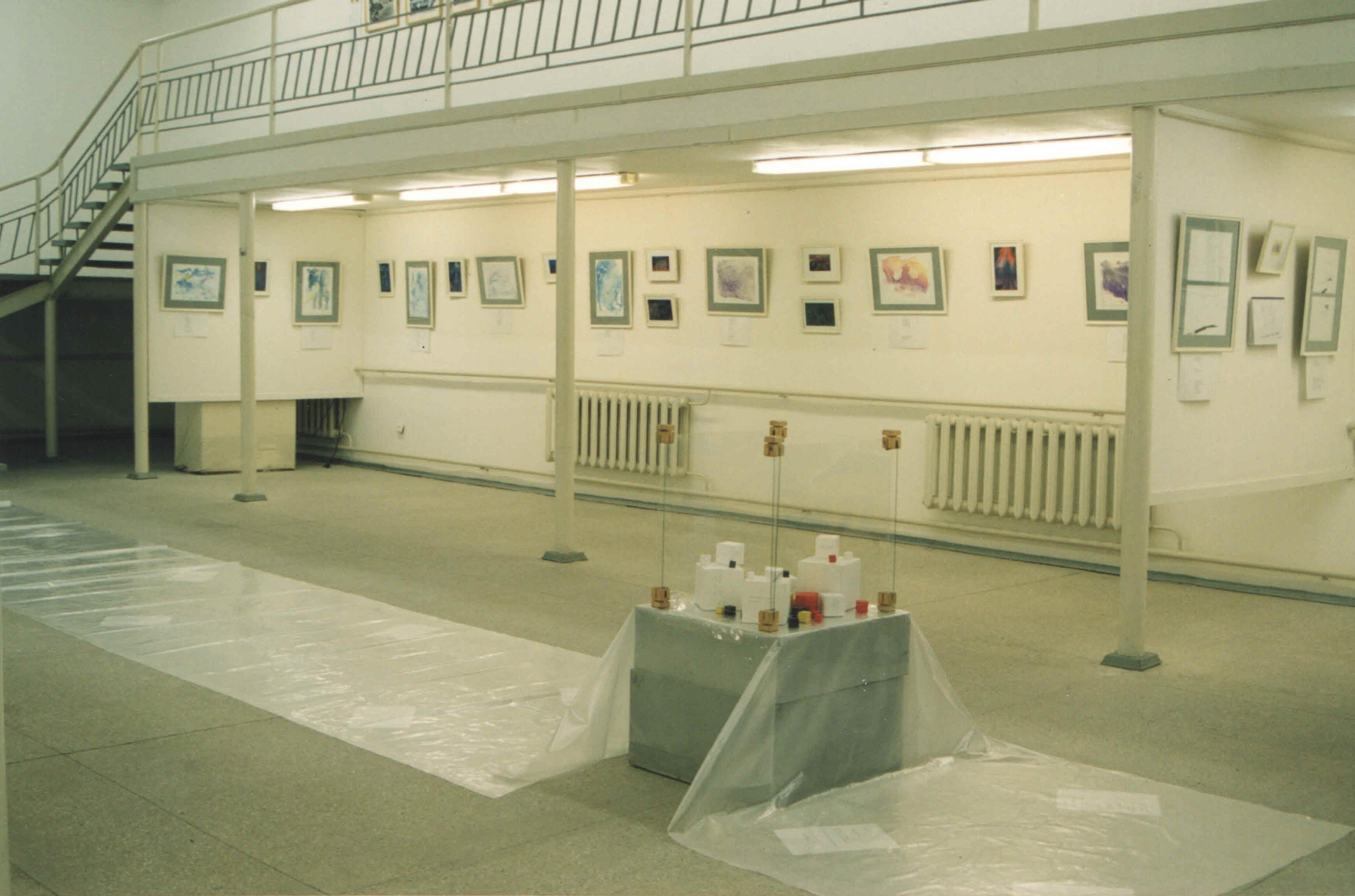 """Выставка """"Книги песка"""", ГВЗ Геленджика, 2002"""