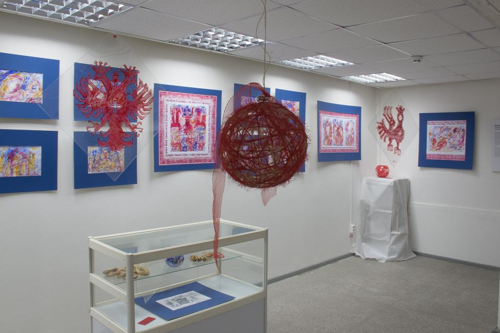 Выставка проекта в ГВЗ Геленджика в 2014 году