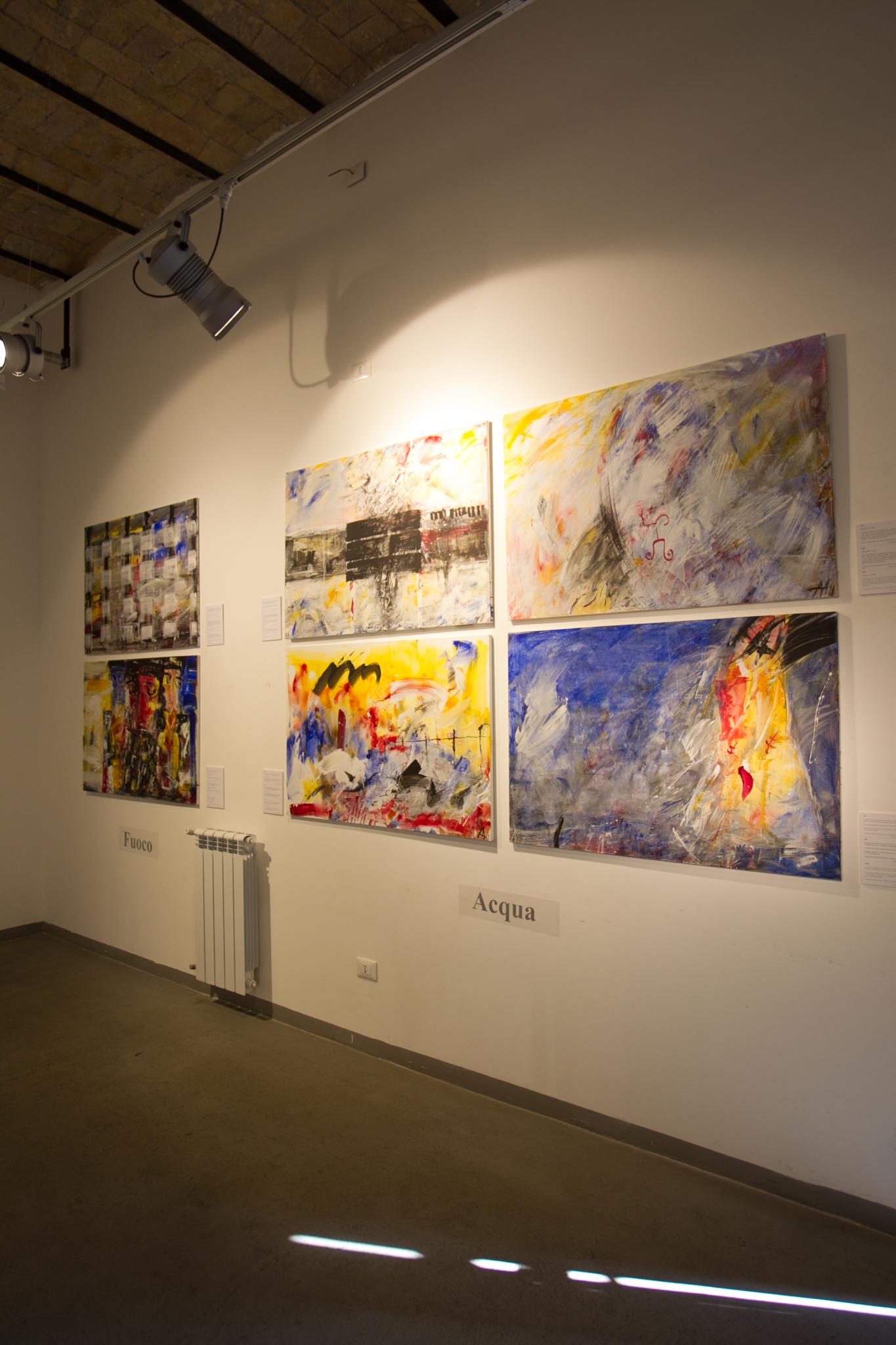 Выставка  проекта в Officine Fotografiche, Рим