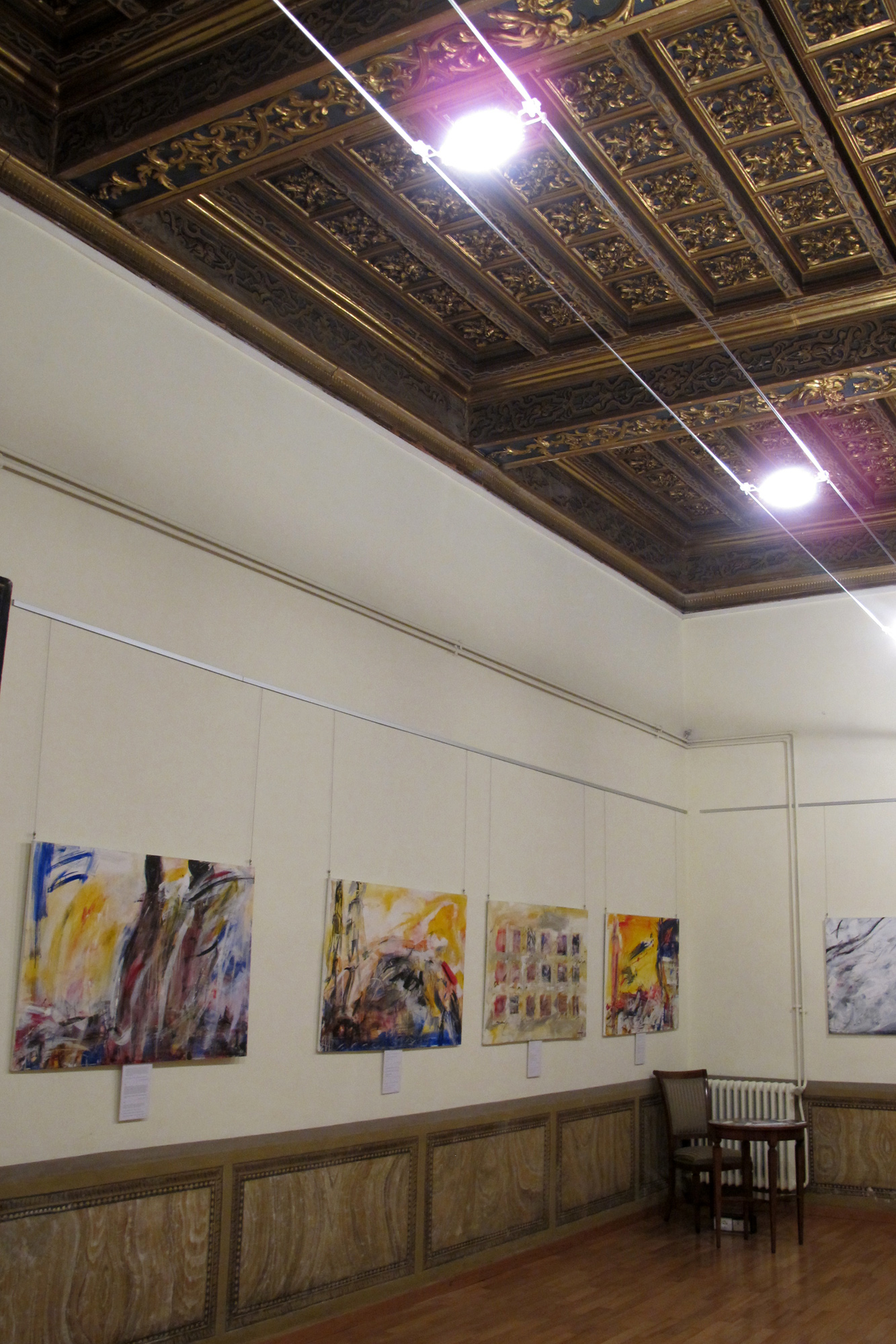 Выставка  проекта в Palazzo Santa Croce, Рим