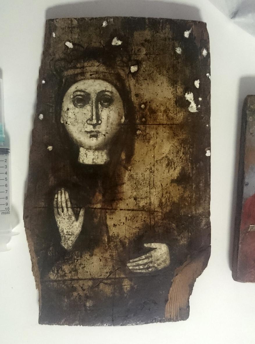 Реставрация икон в мастерской в Геленджике